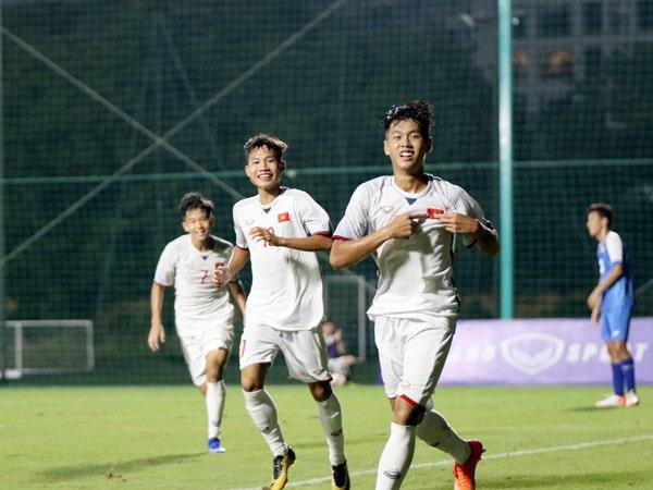 Vòng loại U16 châu Á: Việt Nam vươn lên dẫn đầu bảng H