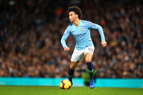 10 cầu thủ trẻ hay nhất thế giới Leory Sane