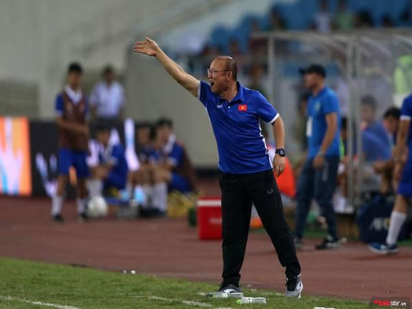 HLV Park Hang Seo đang có thành tích bất bại trên sân Mỹ Đình