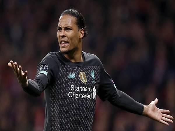 Van Dijk không phục với kết quả thua tối thiểu của Liverpool