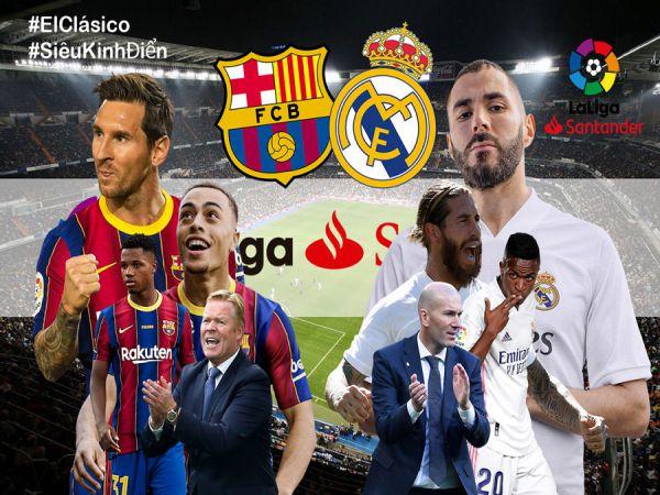 Nhận định soi kèo tỷ lệ Barcelona vs Real Madrid, 21h00 ngày 24/10