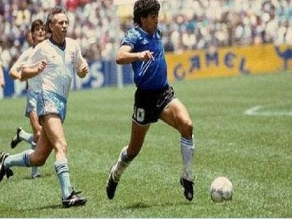 Argentina vs. Anh (1986) - Diego Maradona