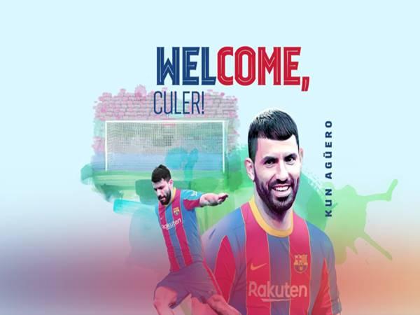 Chuyển nhượng 1/6: Barcelona chiêu mộ thành công Sergio Aguero