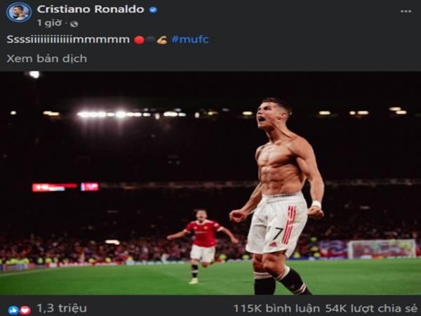 Tin MU 30/9: Ronaldo khiến Fan đội bóng quỷ đỏ phát cuồng